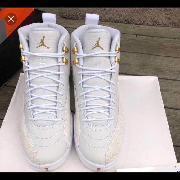 huge discount 83be1 9a8a1 Air Jordan Retro 12 OVO white sz. 10 collab!!